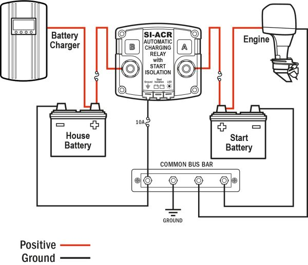24 Volt Trolling Motor Wiring With Charger