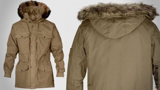 Зимняя туристическая куртка
