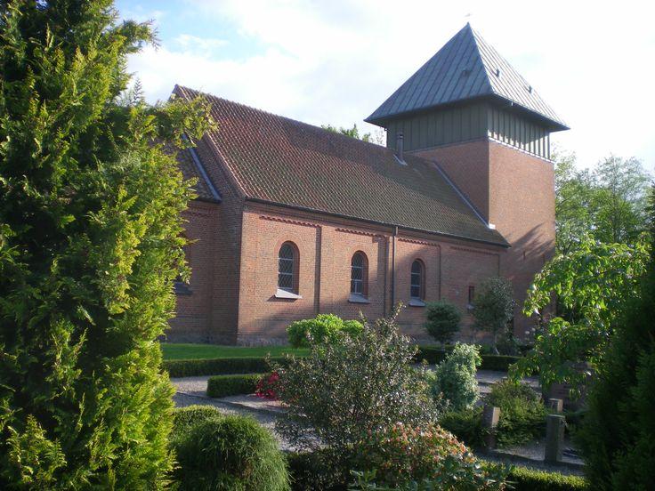 Badskaer Church, Badskær kirke, Sæby, Denmark. Photo: Kurt Thorleif Jensen.