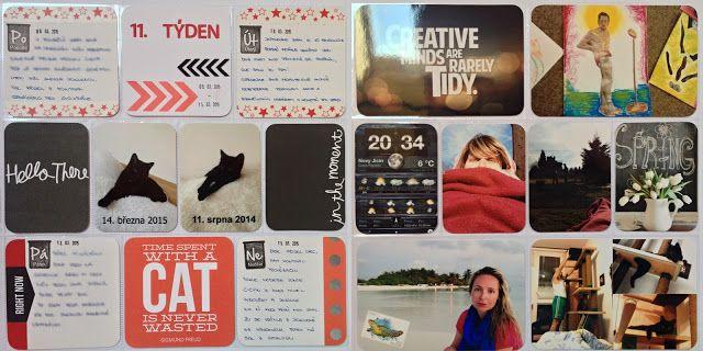 Project life 2015 - 11. týden | RadkArt