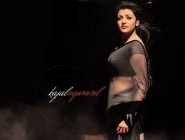 Kajal Agarwal in Hot Saree Images