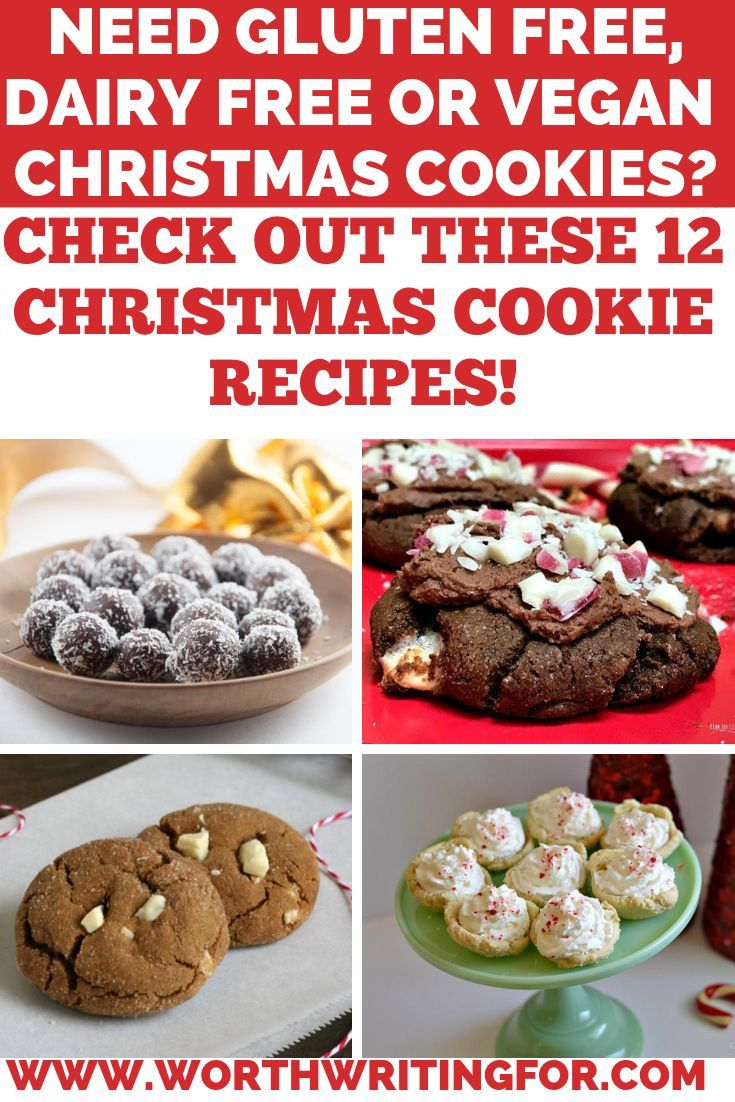 Gluten Free Christmas Cookies And Vegan Options Too Blogger