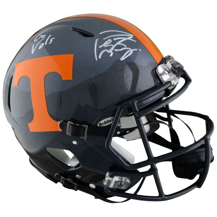 Peyton Manning Tennessee Volunteers Fanatics Authentic Autographed Riddell Smoky Mountain Pro-Line Helmet with Go Vols Inscription