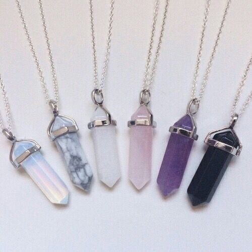 The Power Necklaces: they have the ability to track down anything/anyone with powers. (Dina's necklace is the only one that also has the ability to take away powers)
