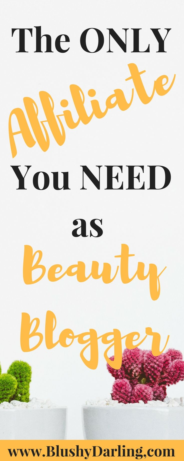 Sharing with you the ONLY affiliate you need if you are a beauty blogger #blogging