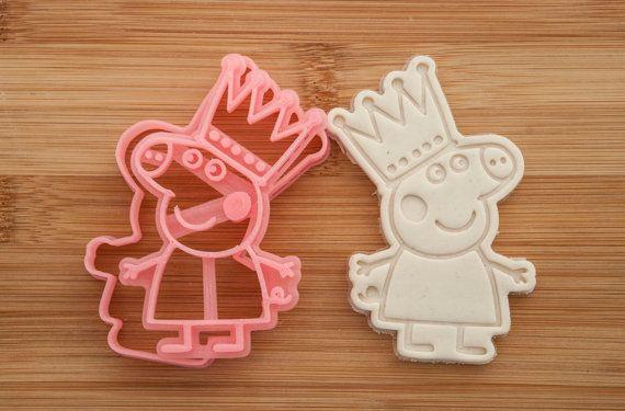 Princess Peppa Pig. Cookie cutters. Cookies. от CoolCookiesCutters