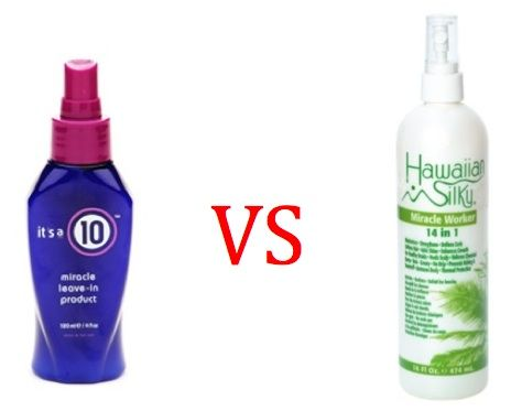 hawaiian silky 14 in 1 | Battle of the Leave-in Conditioner: Hawaiian Silky vs. It's a 10 ...