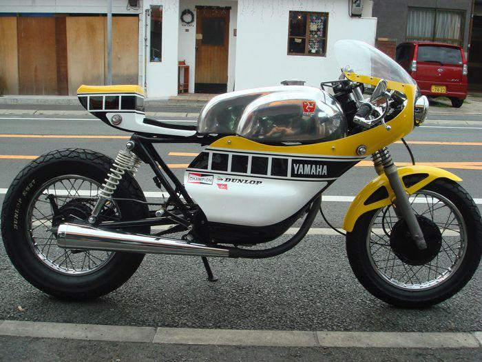 The Bullitt Daily Inspiration Yamaha YD 125 Cafe Racer