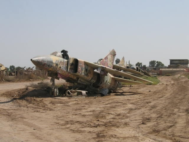 My Tour In Iraq on Row Of Spirals