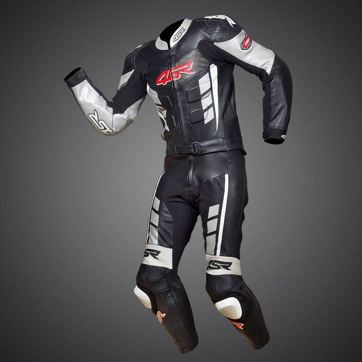 RR Edition Black - Silver Evo suit