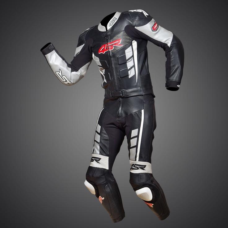 RR Edition Black - Silver Evo suit