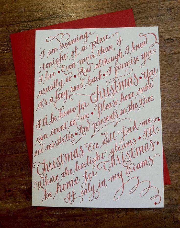 A Christmas Letter lyrics by Reba McEntire - original song ...