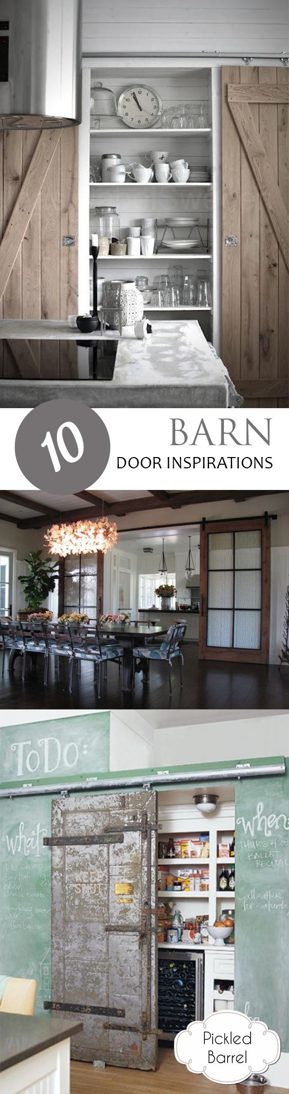 65202 best images about diy best bloggers home family for Barn door home decor
