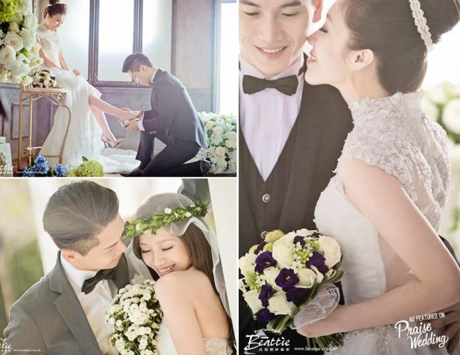 This pre-wedding session is full of beautiful smiles, sweet moments, and happy hearts!
