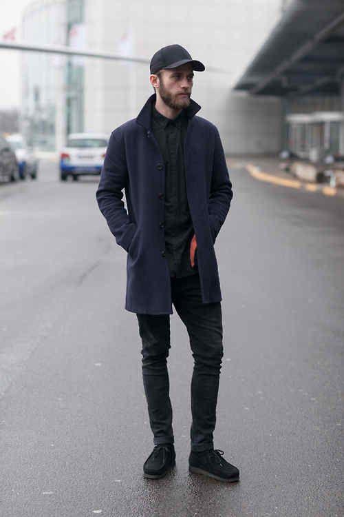 Tonal basics dominating menswear looks outside the shows at... | No:37462 | メンズファッションスナップ フリーク - 男の着こなし術は見て学べ。