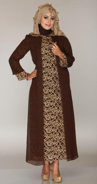 Gamis dengan Model kapucong, simpel, cantik namun tetap Exclusive.
