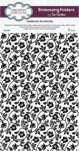 rambling blossoms sue wilson embossing folder