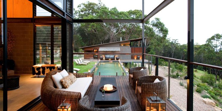 #luxuryaccommodation at Spicers Sangoma Retreat in the #BlueMountains, NSW.