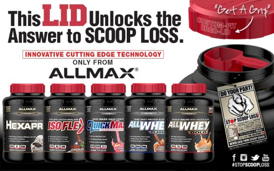 ALLMAX Scoop Lock technology
