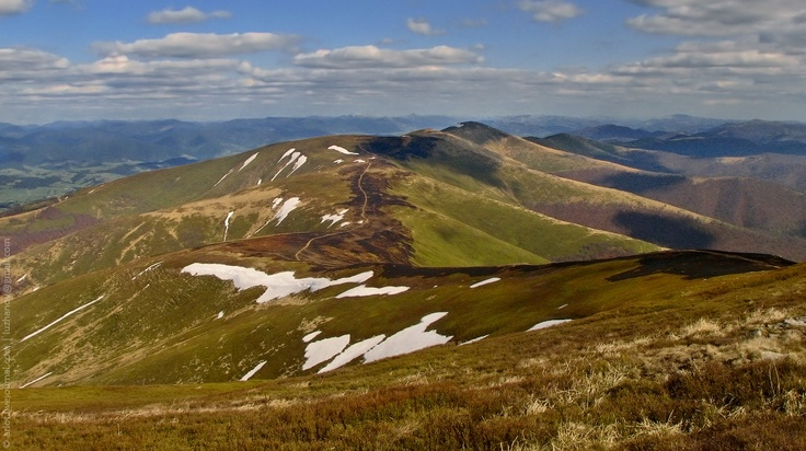 Carpathian in May / Карпаты в мае