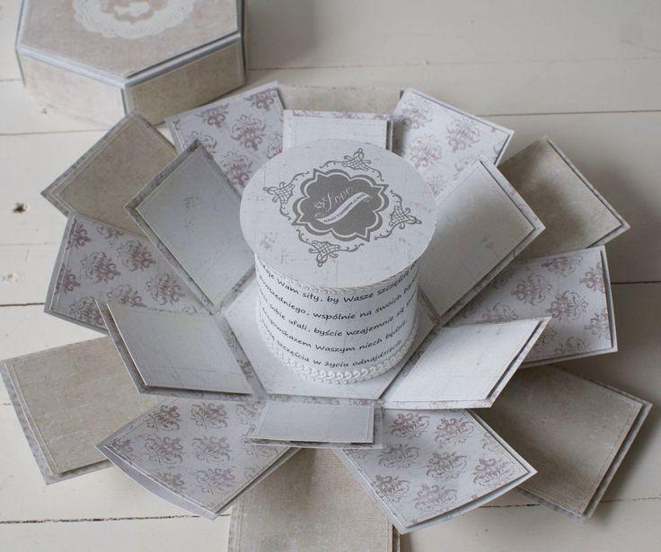 Hexagon wedding box