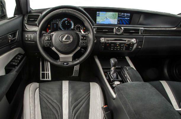 2016 Lexus GS 350 Interior