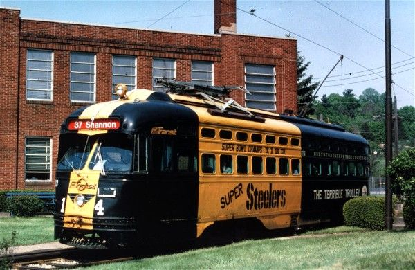 The Pittsburgh Steeler's Terrible Trolley