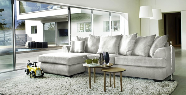 9 best sectionnel images on pinterest lounges salons for Sofa sectionnel maison corbeil
