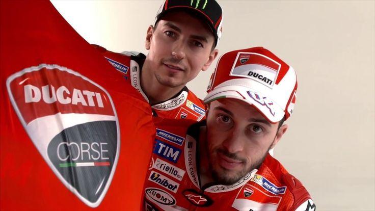 Shooting Backstage Ducati MotoGP Team 2017 Jorge Lorenzo Andrea Dovizioso