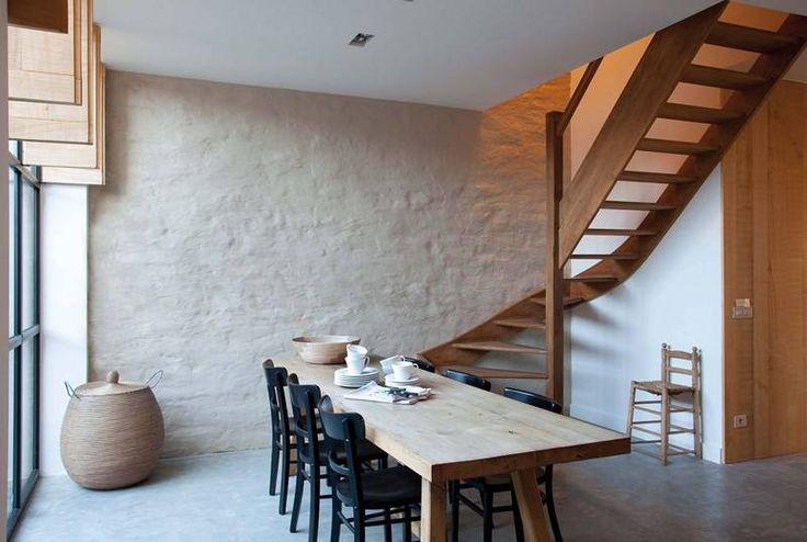 Kalei binnen huisje tuintje boompje pinterest woonkamer keuken schuren en gevels - Binnen deco ...