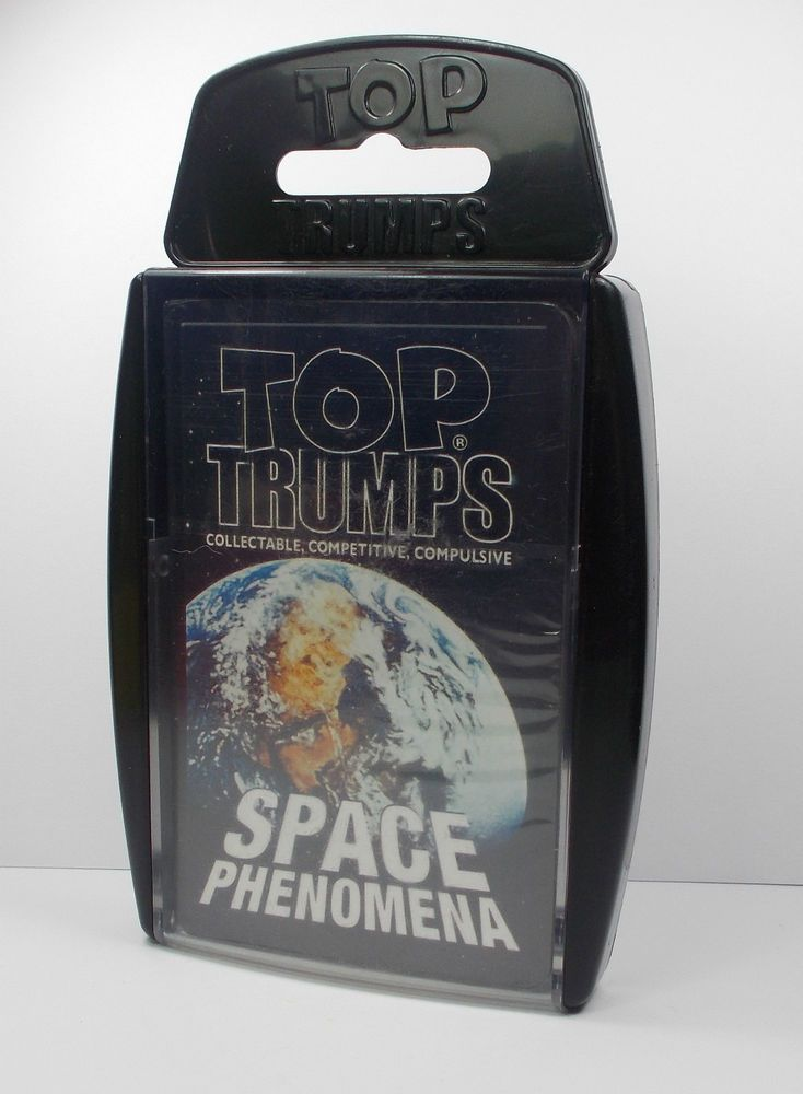 Top Trumps - Space Phenomena - Winning Moves 2005(1) Buy 1 get 50% off next pack