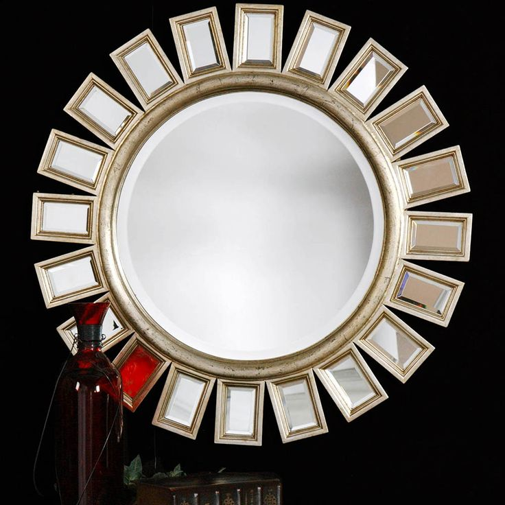 Mobexpert oglinda 86 cm auriu Cyrus