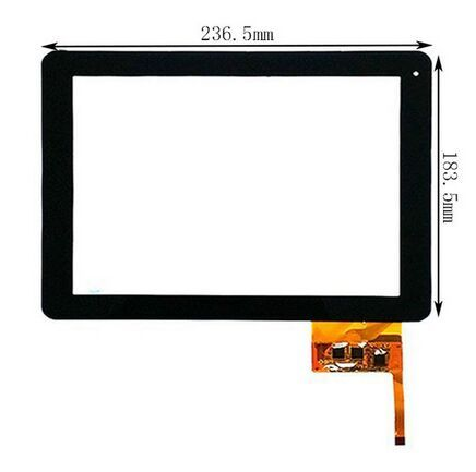 """New touch screen panel Tablet Woxter PC 97 IPS Dual 9.7"""" Tablet Digitizer Glass Sensor replacement Free Shipping"""