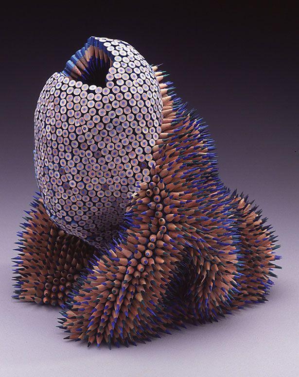 Jennifer Maestre Pencil Sculptures
