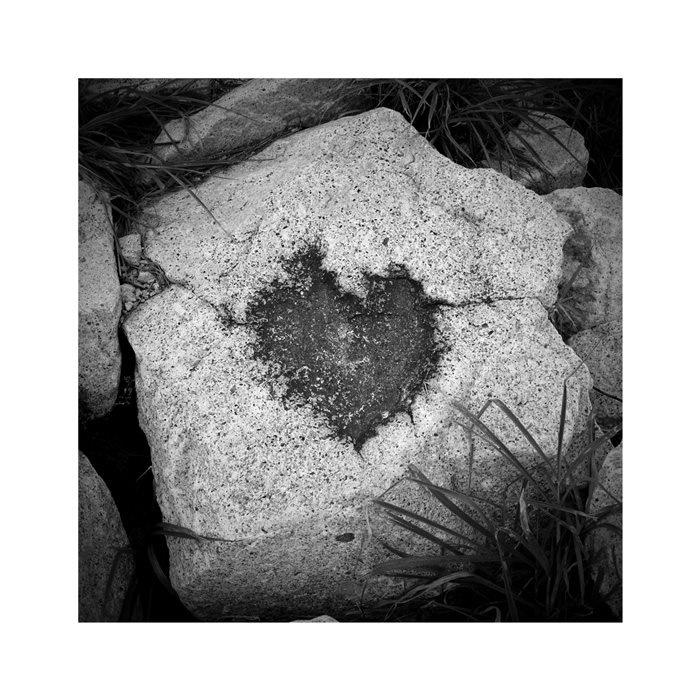 hearted rock - taken by me