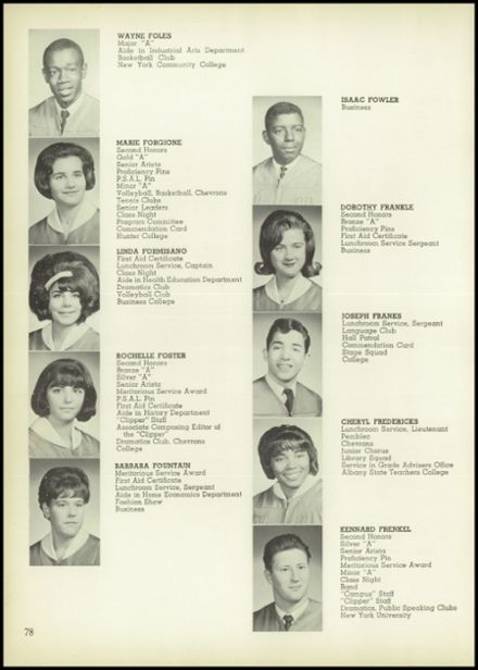 1965 John Adams High School Yearbook via Classmates.com