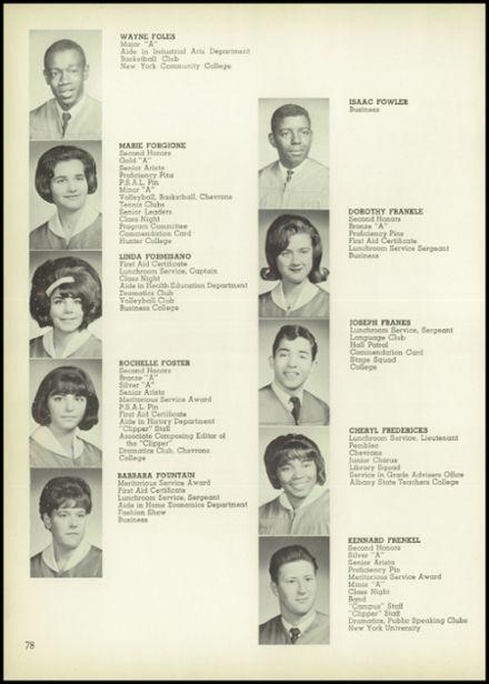 1965 John Adams High School Yearbook via Classmates.com