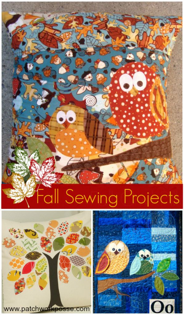 Free Fall Applique Templates and Patterns- what a great collection! I love the owl ones...