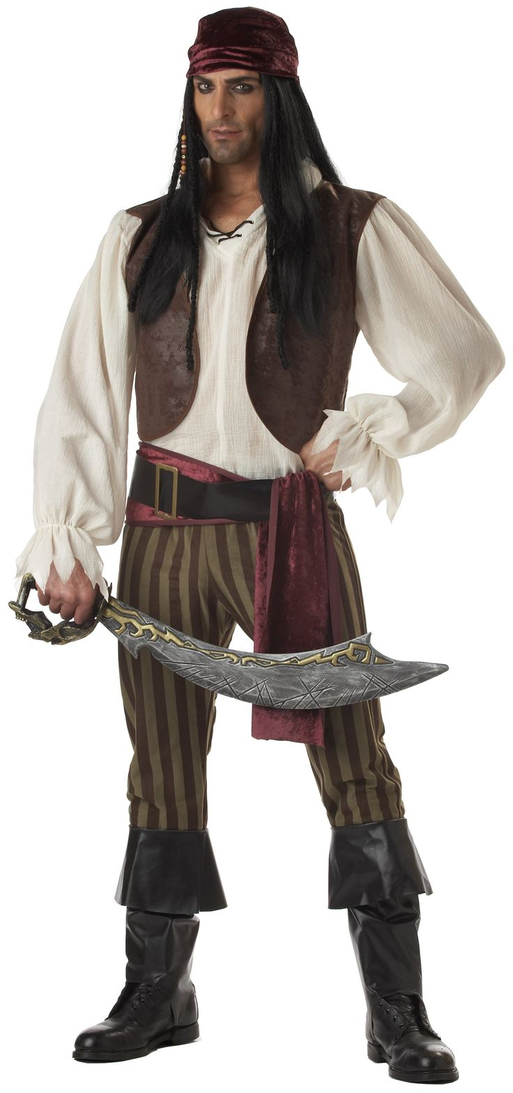 Rogue #Pirate Adult #Costume