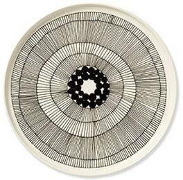 Love the Siirtolapuutarha Plate by Marimekko!