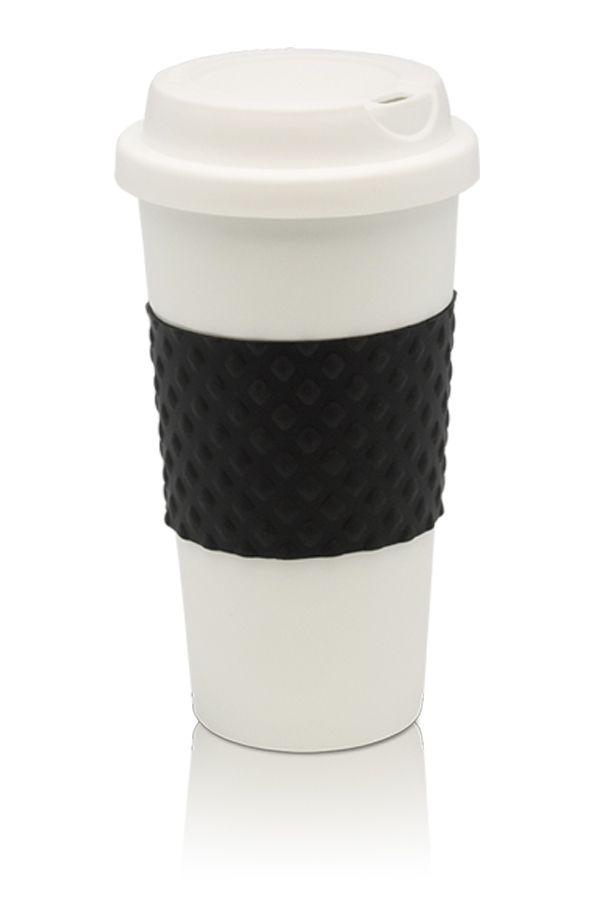 Lleva tu café a todas partes con este práctico termo, con antideslizante y tapa, especial para esos dias de mucho movimiento.