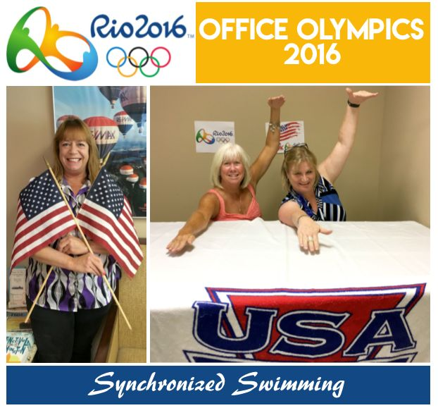 Office Olympics 2016:  Synchronized Swimming