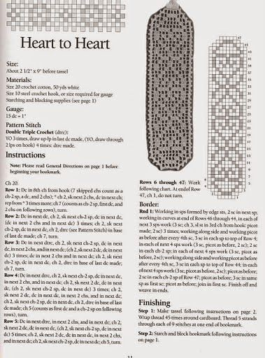segnalibro | Hobby lavori femminili - ricamo - uncinetto - maglia