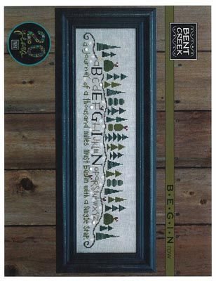 Begin Row From Bent Creek - Cross Stitch Charts - Embroidery - Casa Cenina