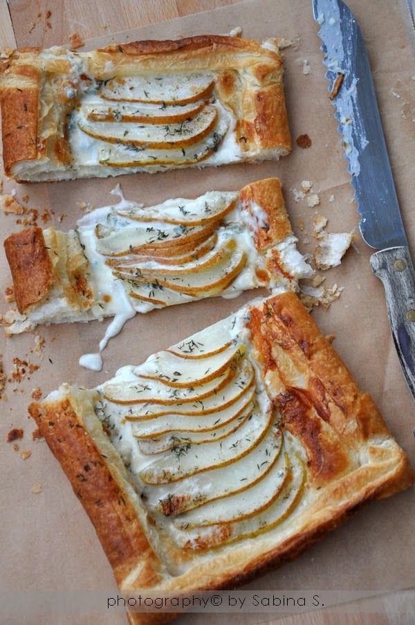 Due bionde in cucina: Sfoglia con pere e gorgonzola