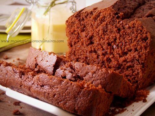 Cake moelleux au chocolat | Le blog de Samar
