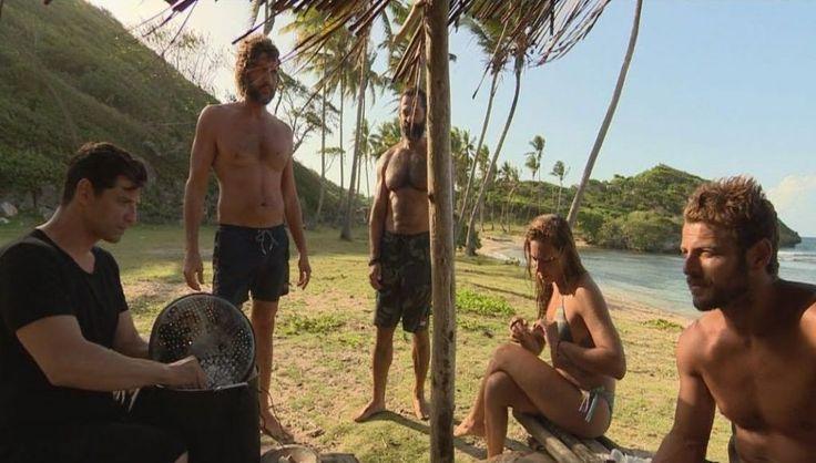 Survivor: Οι παίκτες συναντούν τον Σάκη στην παραλία-Ποια η αντίδρασή τους;