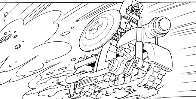 LEGO AVENGERS 4 coloring sheet. | Lego coloring pages ...