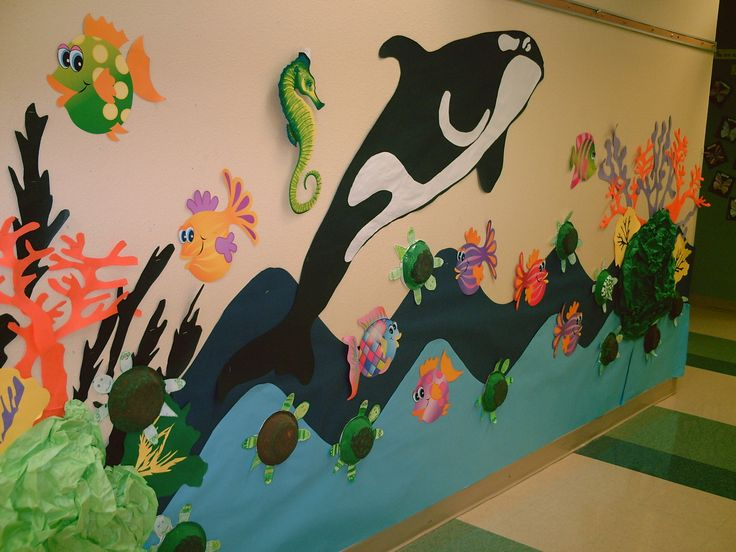 Classroom Decor Under The Sea ~ Best images about beach library theme ideas on