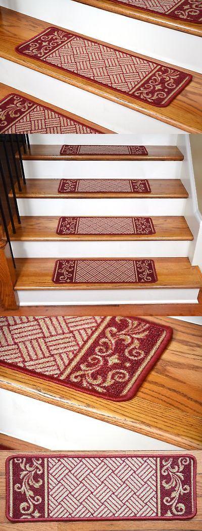 Best Stair Treads 175517 Dean Washable Non Skid Carpet Stair 640 x 480